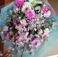 お別れ用の花束