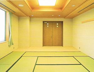 大阪市立 北斎場 家族待合室